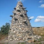 Tour en pierres  sèches St Clément